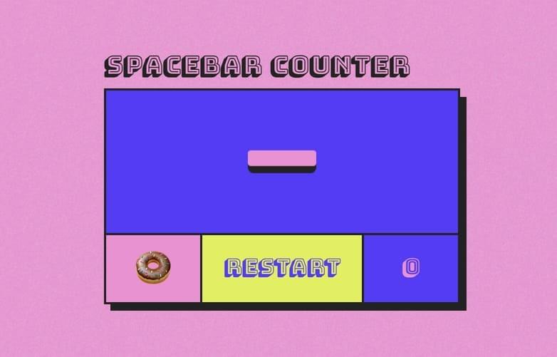 spacebar click test